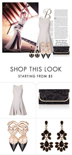 """""""Describe the Look 99#"""" by princess0709 ❤ liked on Polyvore featuring moda, Cushnie Et Ochs, Oasis, Valentino y Accessorize"""