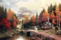 The Valley of Peace ~ Thomas Kinkade