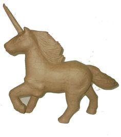 Paper Mache Unicorn