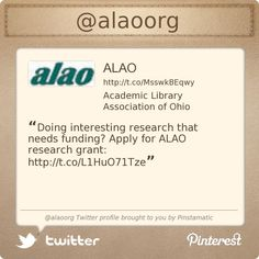 Research Grants, How To Apply, Profile, Twitter, User Profile