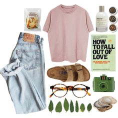 A fashion look from March 2016 by imagicality on polyvore featuring Birkenstock, François Pinton, Le Labo, Tea Collection, She's So and Guide London