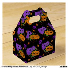 Check out Zazzle's variety of Mardi Gras favor boxes! Browse all of our wonderful designs and get your favor bag today! Halloween Party Supplies, Custom Napkins, Party Hacks, Masquerade Masks, Vinyl Lettering, Favor Boxes, Party Printables, Gift Bags, Trick Or Treat