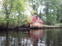 took a paddle down the Rancocas one day...