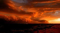 Thunderstorm near Port Hedland, Western Australia