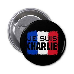 I Am Charlie - Je Suis Charlie Pinback Buttons http://www.zazzle.com/i_am_charlie_je_suis_charlie_pinback_buttons-145345841180659879?rf=238955018851999137