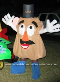 cool diy mr potato head costume