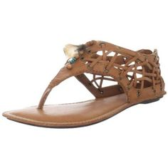 Big Buddha Women`s Peek Thong Sandal,Tobacco,8.5 M US $49.95