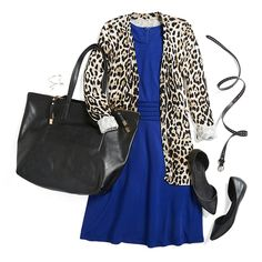 The most flattering dress ever—in multiple colors—for weddings, work or weekend. Bring out your adventurous side by pairing it with a bold animal print cardigan and black accessories. Tell your Stylist you love the Dita!