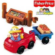 Fisher Price Little People Lil Vehicles Farmers Market