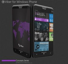 Viber – concept free call app for Windows Phone