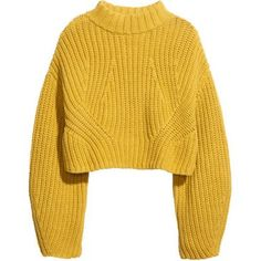 Trendy Ideas How To Wear Yellow Sweater Fall Cropped Pullover, Pullover Shirt, Crop Shirt, Cropped Sweater, Long Sleeve Sweater, Long Sleeve Tops, Long Sleeve Shirts, Long Shirts, Sweater Shirt