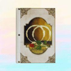 Βιβλίο Ευχών Γάμου   123-mpomponieres.gr Bookends, Home Decor, Decoration Home, Room Decor, Book Holders, Interior Decorating