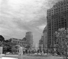 Praça Mauá – 1957