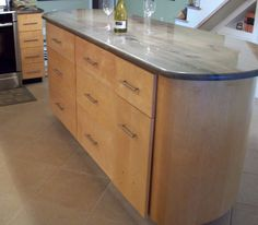 Custom kitchen island MB Custom Woodwork Melbourne, FL