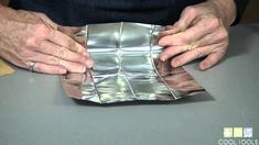 How to Fold a Metal Clay Firing Box from No-Flake Firing Foil by Cool Tools