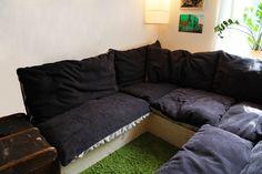 #Sitzkissen #Sitzlandschaft # Kissenlandschaft #pillow landscape