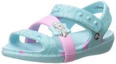 crocs Keeley Frozen Fever K Sandal (Toddler/Little Kid) * More infor at the link of image  : Girls sandals