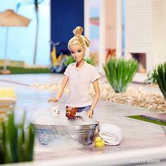Hoy dia de baño con Daisy y Twinkle!! Dia internacional de perros Post by: Barbie