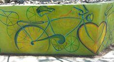 Detail of Sabrina Peros artwork at Paz Cantina.