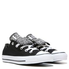 Converse Women's Chuck Taylor All Star Double Tongue Low Top Sneaker at  Famous Footwear