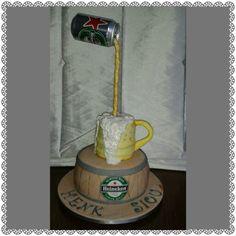 Beer taart.