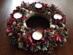 Seasonal+wreath+Christmas+wreath+Natural+wreath+by+JuraDeco