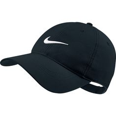 Amazon.com : Nike Tech Swoosh Cap, Black/White, One Size : Baseball Caps : Sports & Outdoors