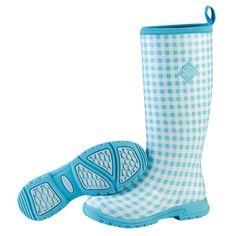 Muck Boots Breezy Tall - Blue Gingham - SOOOO CUTE!!