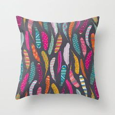 Home Decor, Bedroom, Living Room, Throw Pillow, Colorful, Tribal ...