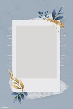Christmas decorated blank instant photo frame vector | premium image by rawpixel.com / Adj