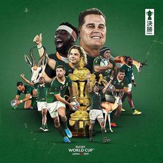And South Africa wins it all in Japan! Congrats to the new Rugby World Cup champions! Top of the world for the South Africa Rugby, Africa Flag, Rugby Wallpaper, Cartoon Wallpaper, Africa Tattoos, England Fans, Champions Of The World, Rugby World Cup, Workout