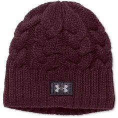 37a0f84c9d7 Under Armour Around Town Beanie ( 27) ❤ liked on Polyvore featuring  accessories