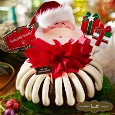 Spread a little holiday cheer by surprising someone special in your life with a hand-decorated Holly Jolly bundt cake!