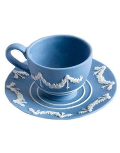 Wedgewood Jasperware China. I'm fixin' to start a collection.