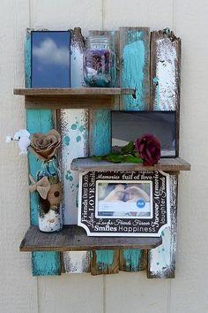 pallet beautiful shelf