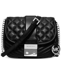 MICHAEL Michael Kors Elisa Medium Messenger Bag | macys.com