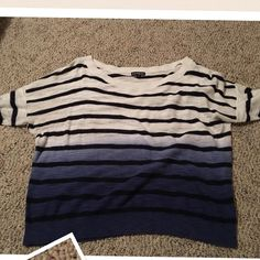 Express sweater Size medium, soft and light weight, 3/4 sleeves Express Sweaters Crew & Scoop Necks
