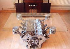 modern furniture design ideas with automotive parts