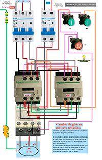 Esquemas eléctricos: Inversión de giro
