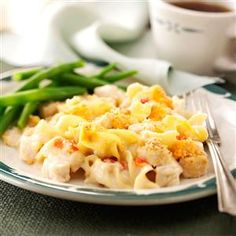 Creamy Chicken Noodle Bake Recipe from Taste of Home