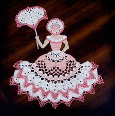 Miss Charlotte Crinoline Doily from Crochetmemories.com for $4.25.