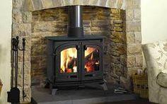 Resultado de imagen para homes with stoves and fireplaces