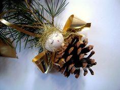Anges dorés décoration sapin : Accessoires de maison par floartistique