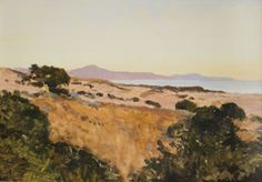 LOCKWOOD DE FOREST (1850-1932) Santa Barbara to the Rincon to Point Mugu, c. 1915
