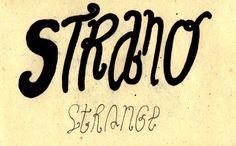 Learning Italian Language ~ Strano (Strange) IFHN