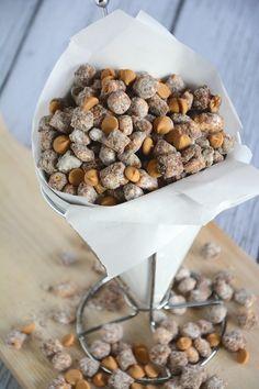 Captain Crunch Peanut Butter Puppy Chow.