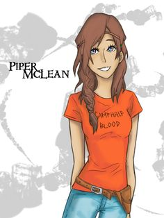 Piper McLean, daughter of Aphrodite from the Heroes of Olympus series. Description from deviantart.com. I searched for this on bing.com/images