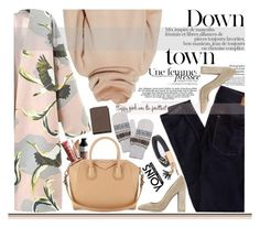 """""""Down town"""" by sinsnottragedies ❤ liked on Polyvore featuring Gianvito Rossi, American Eagle Outfitters, Streamline NYC, Givenchy, Acne Studios, Mulberry, yoins and yoinscollection"""