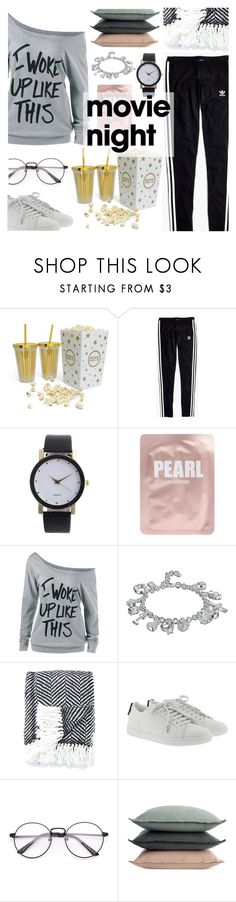 """""""Bring the Popcorn: Movie Night"""" by dora04 ❤ liked on Polyvore featuring Madewell, Lapcos, Kate Spade, Yves Saint Laurent and Design Within Reach"""