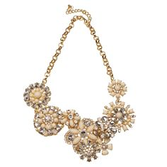 Blooming Crystal Necklace  #tjDesigns
